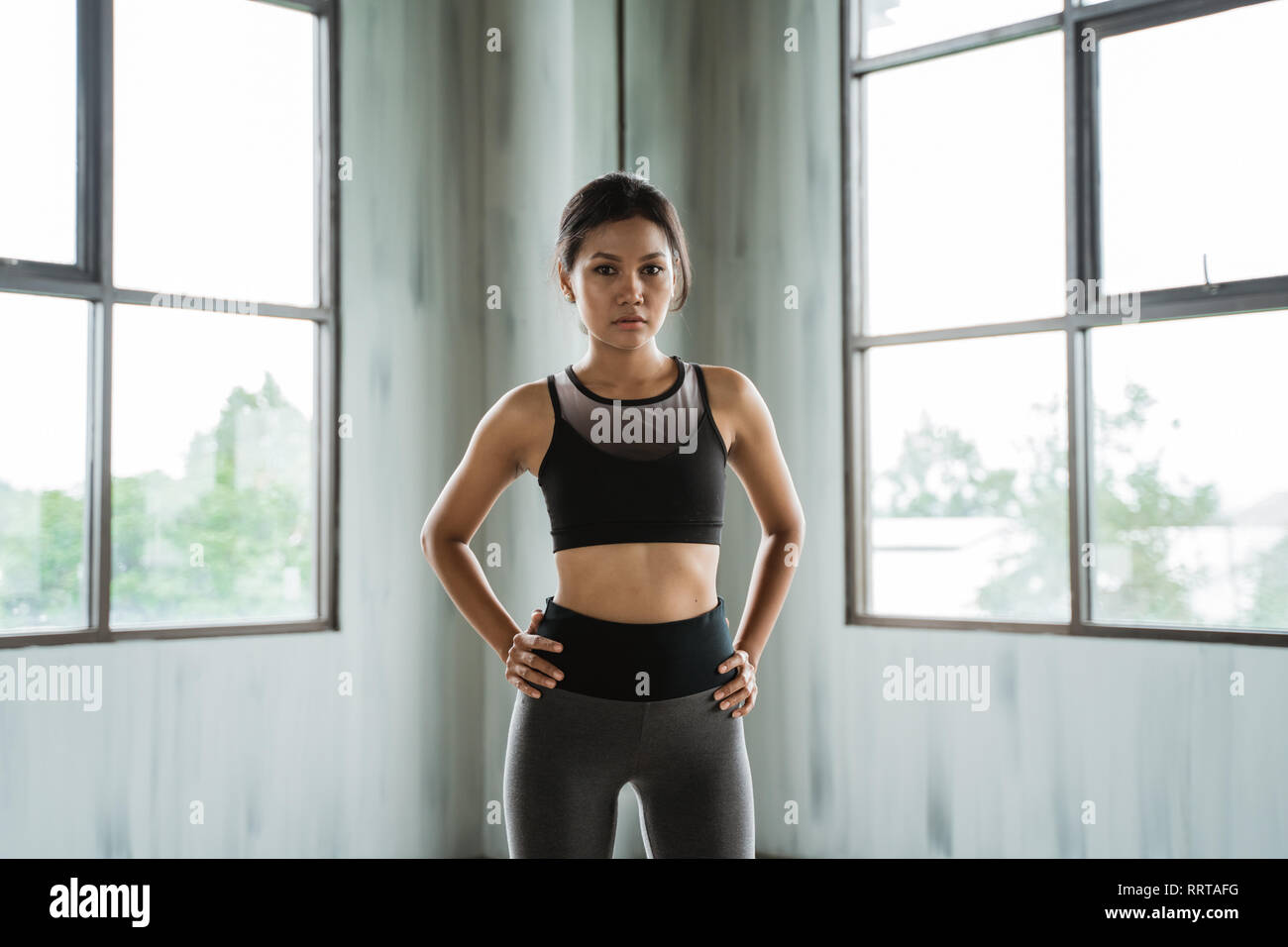 2bf09890d8c2b Young Woman Fitness Stock Photos   Young Woman Fitness Stock Images ...