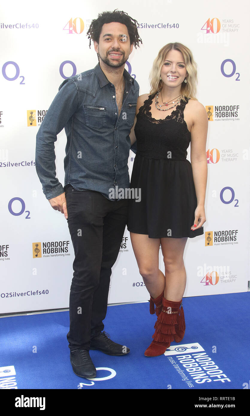 Jul 03, 2015 - London, England, UK - Nordoff Robbins O2 Silver Clef Awards 2015, Grosvenor House Hotel Photo Shows: Guests - Stock Image