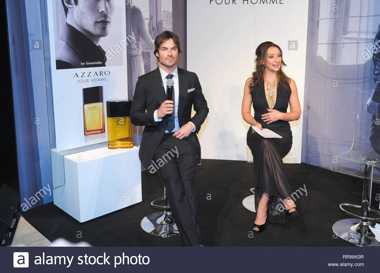 80ddca930fbdb Sao Paulo, Brazil - Ian Somerhalder cleans up good for a promo event ...