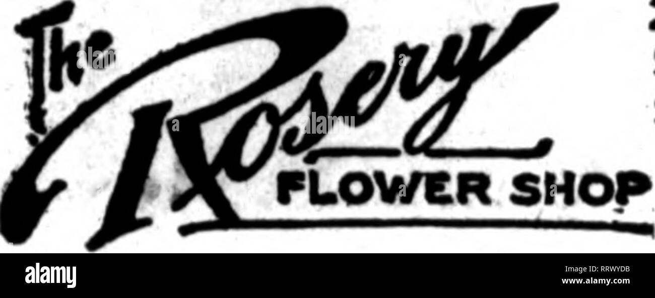 . Florists' review [microform]. Floriculture. ^ivp;>ji}i^ V^>-*'^J^ST'-Sv^^ ' • ,n '-.-a-fi NOVEMBEB 14, 1912. The Florists^ Review 61 LEADING RETAIL FLORISTS The retail florists whose cards appear on the pages carrying this head, are prepared to fill orders from other florists for local delivery on the usual basis. If you wish to be represented under this heading, now is the time to place your order. Alexander McConnell 611 Fifth Avenue, corner of 49th St. NEW YORK CITY Telegraph orders forwarded to any part of the United States, Canada and all the principal cities of Enrope. Hafarane* - Stock Image