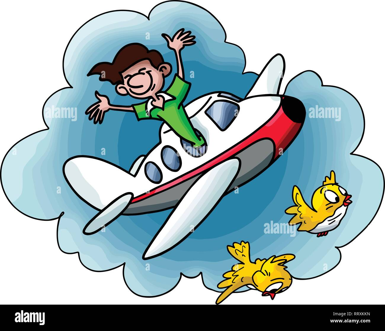 Image result for cartoon ride on a plane around world
