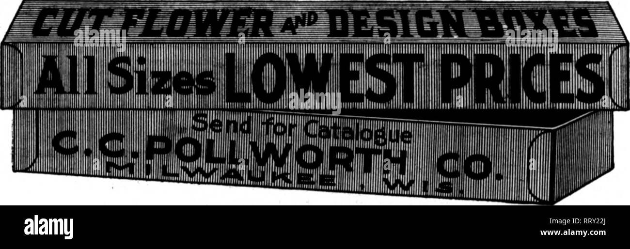 . Florists' review [microform]. Floriculture. Mention Tbe RbtIcw wnen Toa writ^ NEW ORLEANS. Society Oiiting, The annual oiitiiij^ of tlio New Or- leans Horticultural Society took place July 20 to 22 at (Jrand Jsle, La. The j)ower boat Hazel, Captain Fred Mathes, was chartered hy the society and mem- bers from Harvey and Gretna joined the party. It was one of the l)ifigest gath- erings of the society and the general merrymaking began sliortly after pass- ing through Harvey's canal. The weatii- er was ideal for our sub-tr()])ical climate, the scenery ))eautiful, aud the breeze most refreshing.  - Stock Image