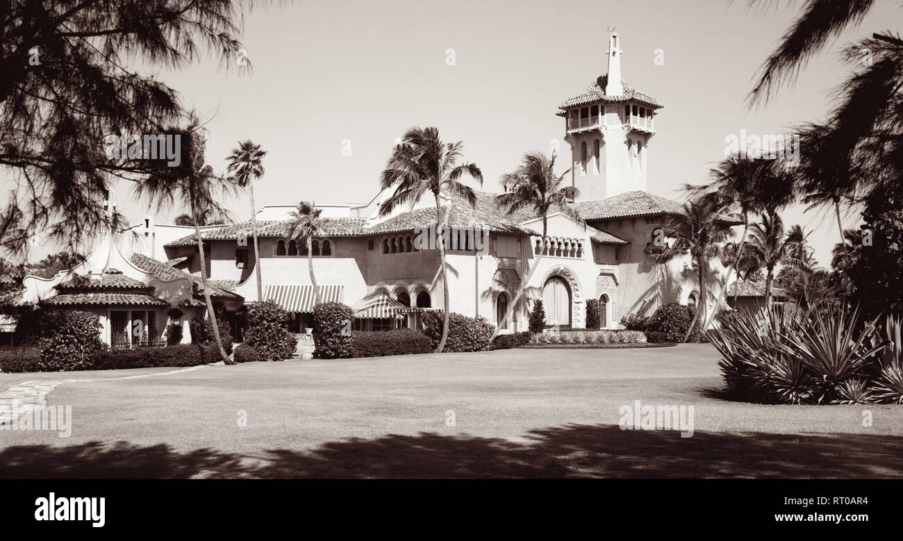 Mar A Lago Spanish For Sea To Lake Was The Former Estate Of