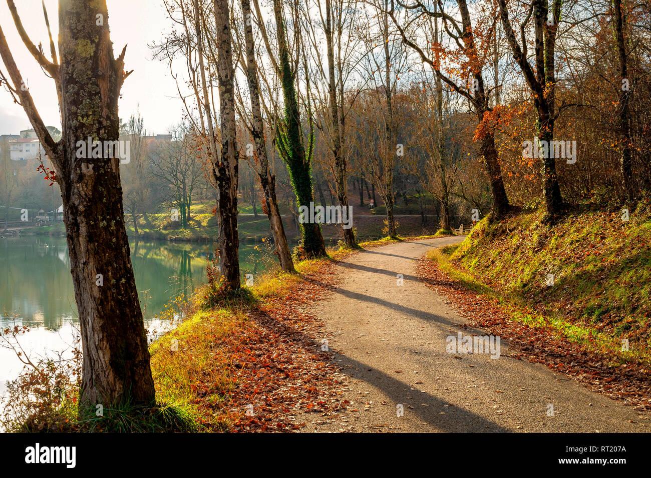 Parc du Lac, Commune La Française Tarn et Garonne France 82 Stock Photo