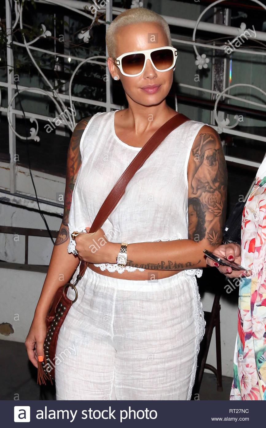 Amber Rose Hollywood Tattoo