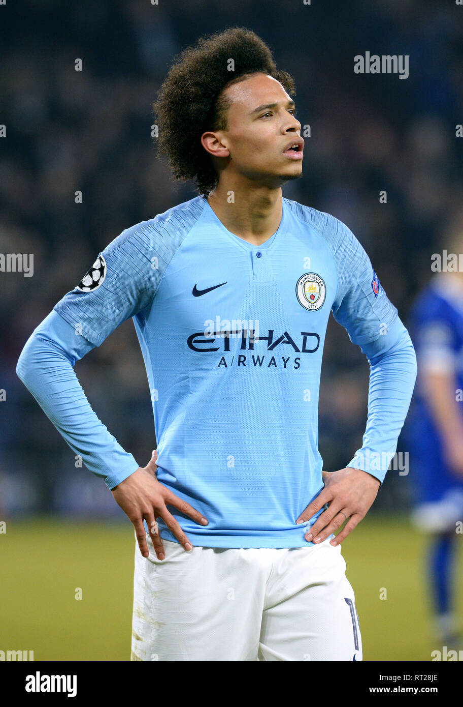 finest selection a9a06 48cd5 German player Leroy Sane of Manchester City in the first leg ...