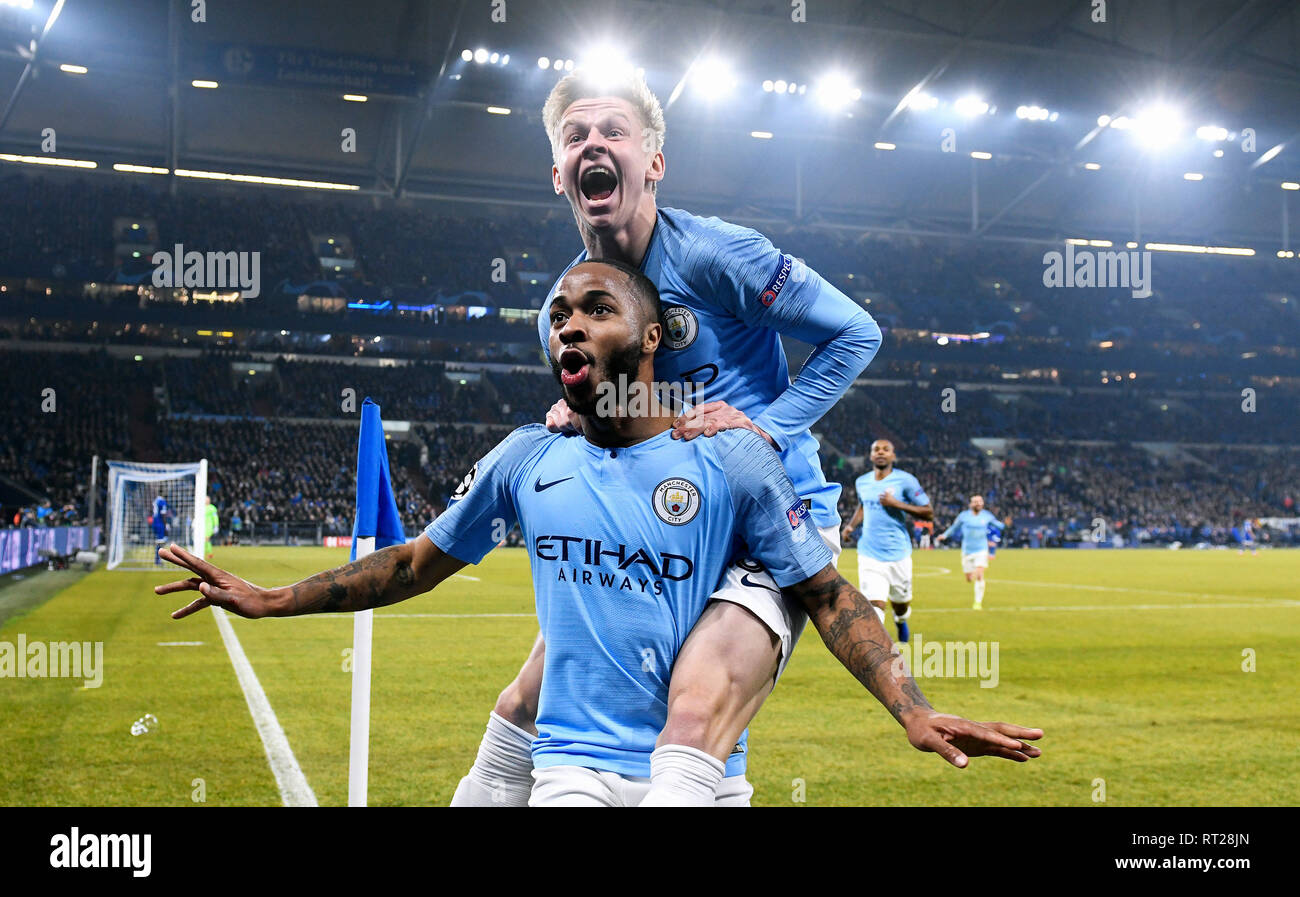 Raheem Sterling Rejoices After His Goal To 32 For