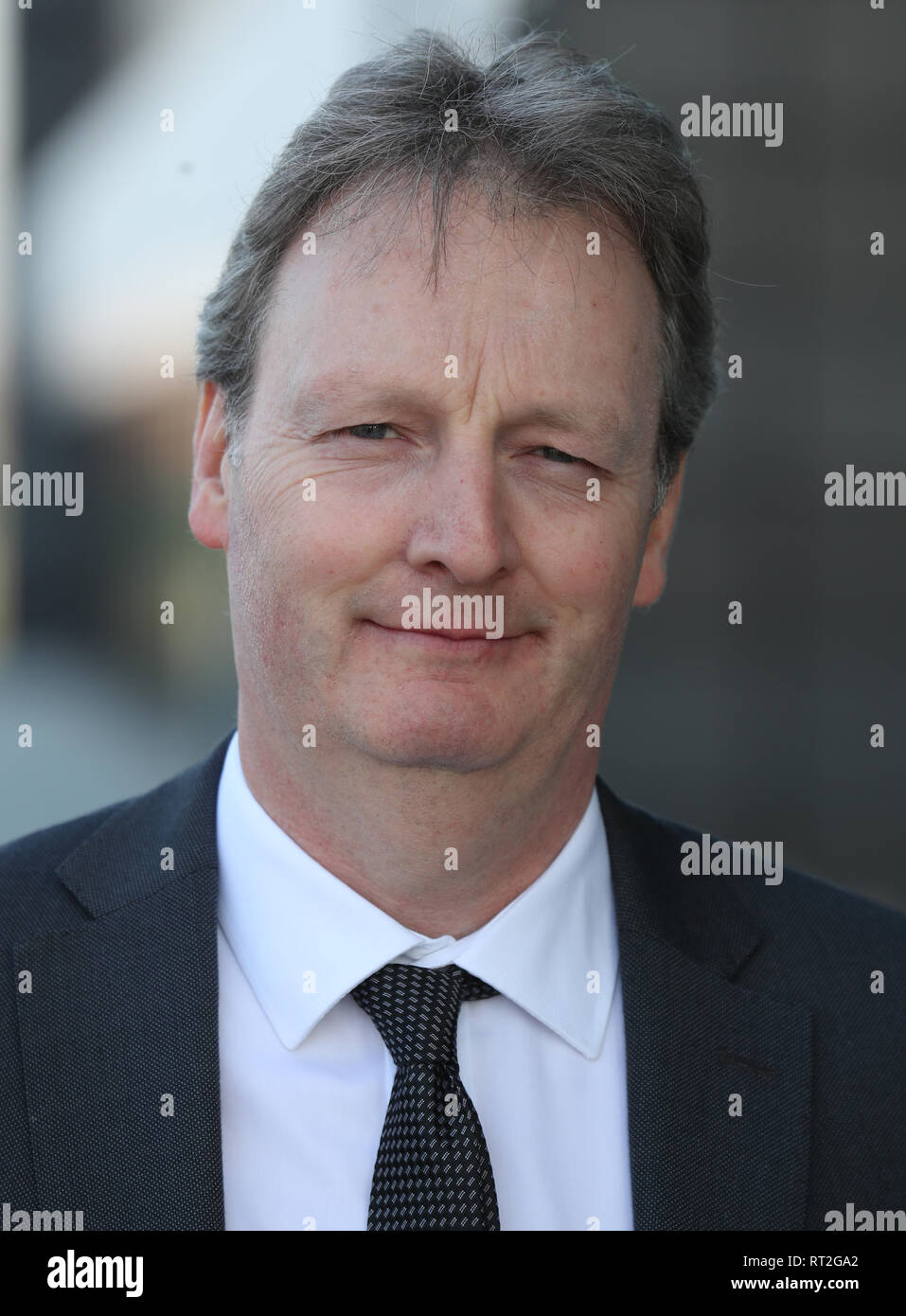 Andrew Gardner, chief executive of Ineos Forties Pipeline System (FPS) at INEOS Grangemouth headquarters after the company made an investment announcement. - Stock Image