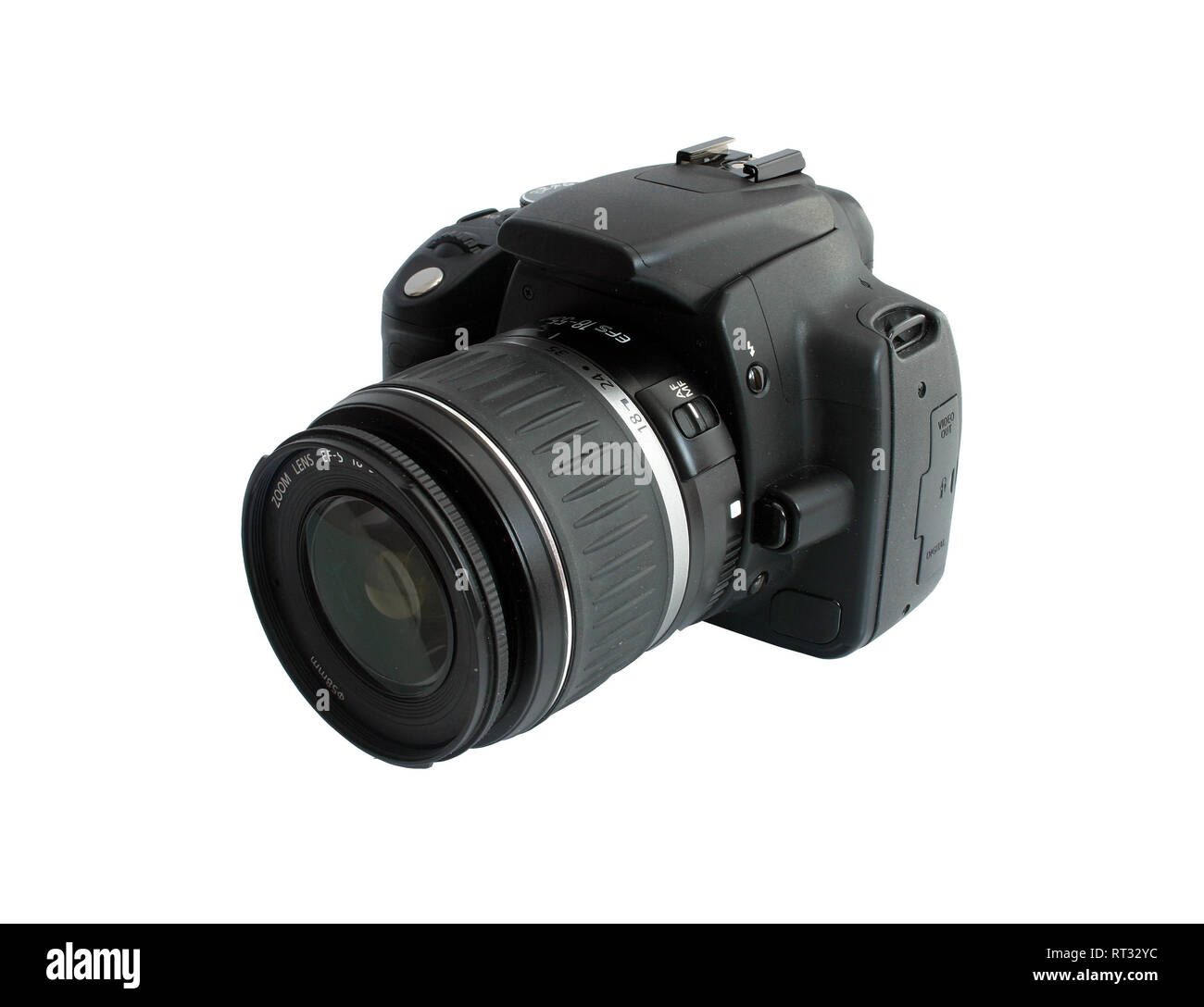 canon EOS 350 isolated on perfectly white background without shadows Stock Photo