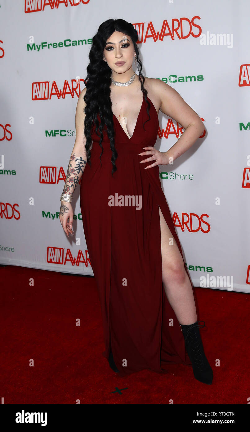 2019 Avn Awards Red Carpet Arrivals At The Joint Inside The Hard Rock Hotel And Casino Featuring Amilia Onyx Where Las Vegas Nevada United States When