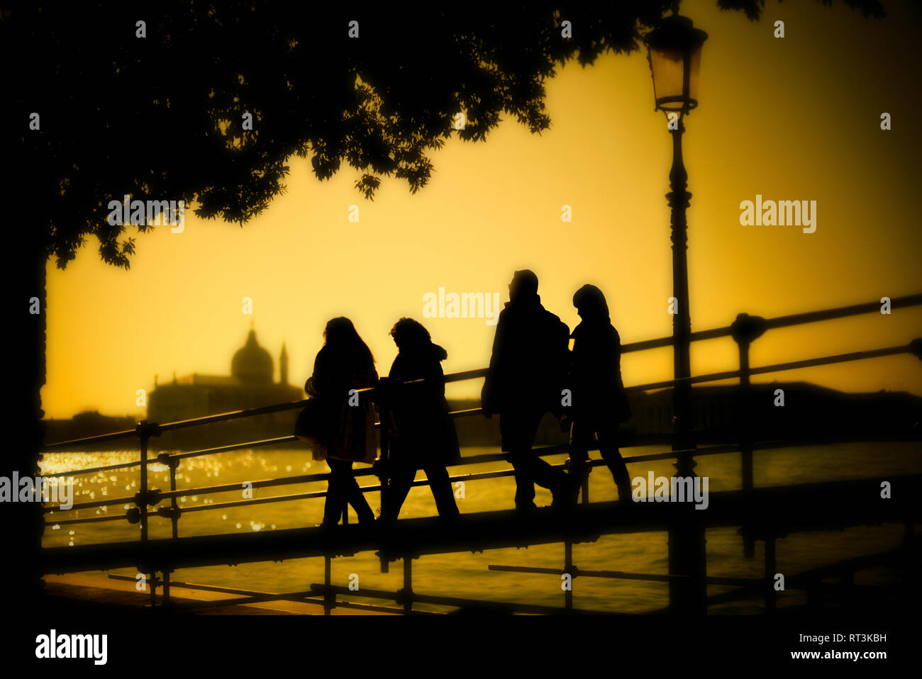 Walking around Venice. - Stock Image