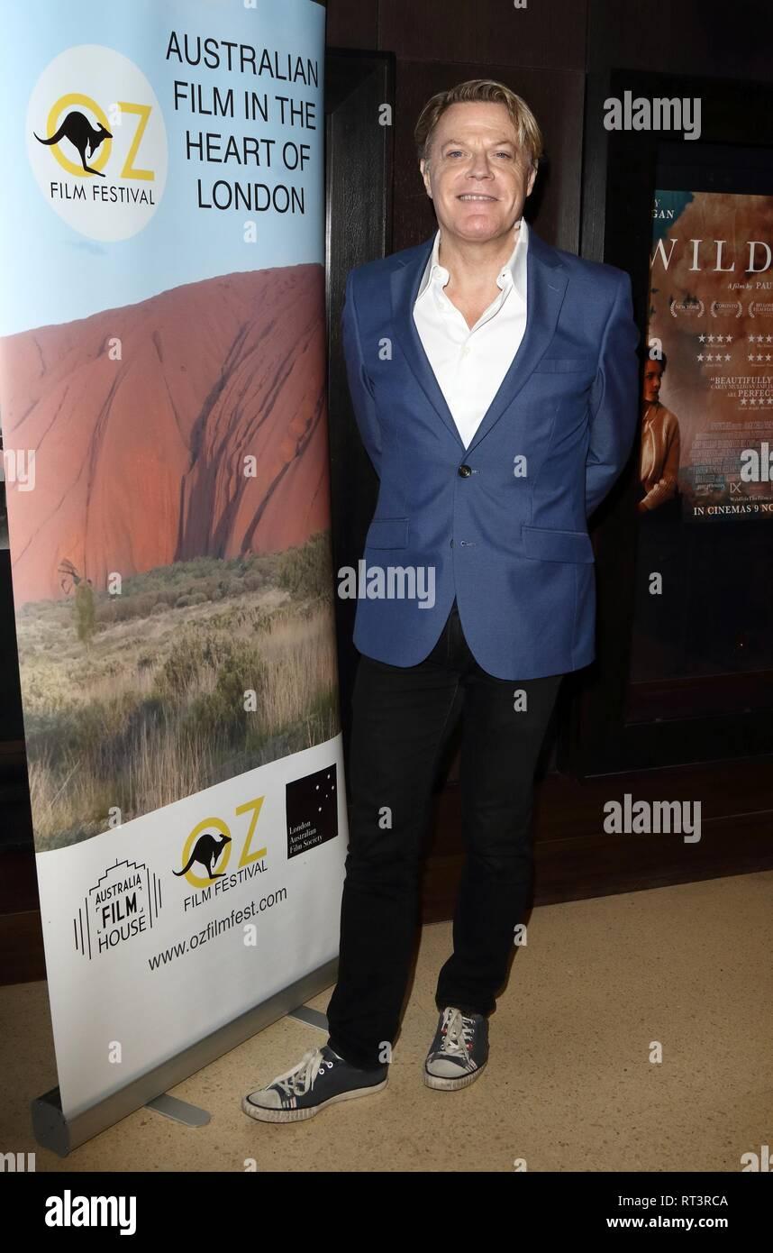 Eddie Izzard, British comedian introduces Australian-British romantic drama  - The Flip Side -