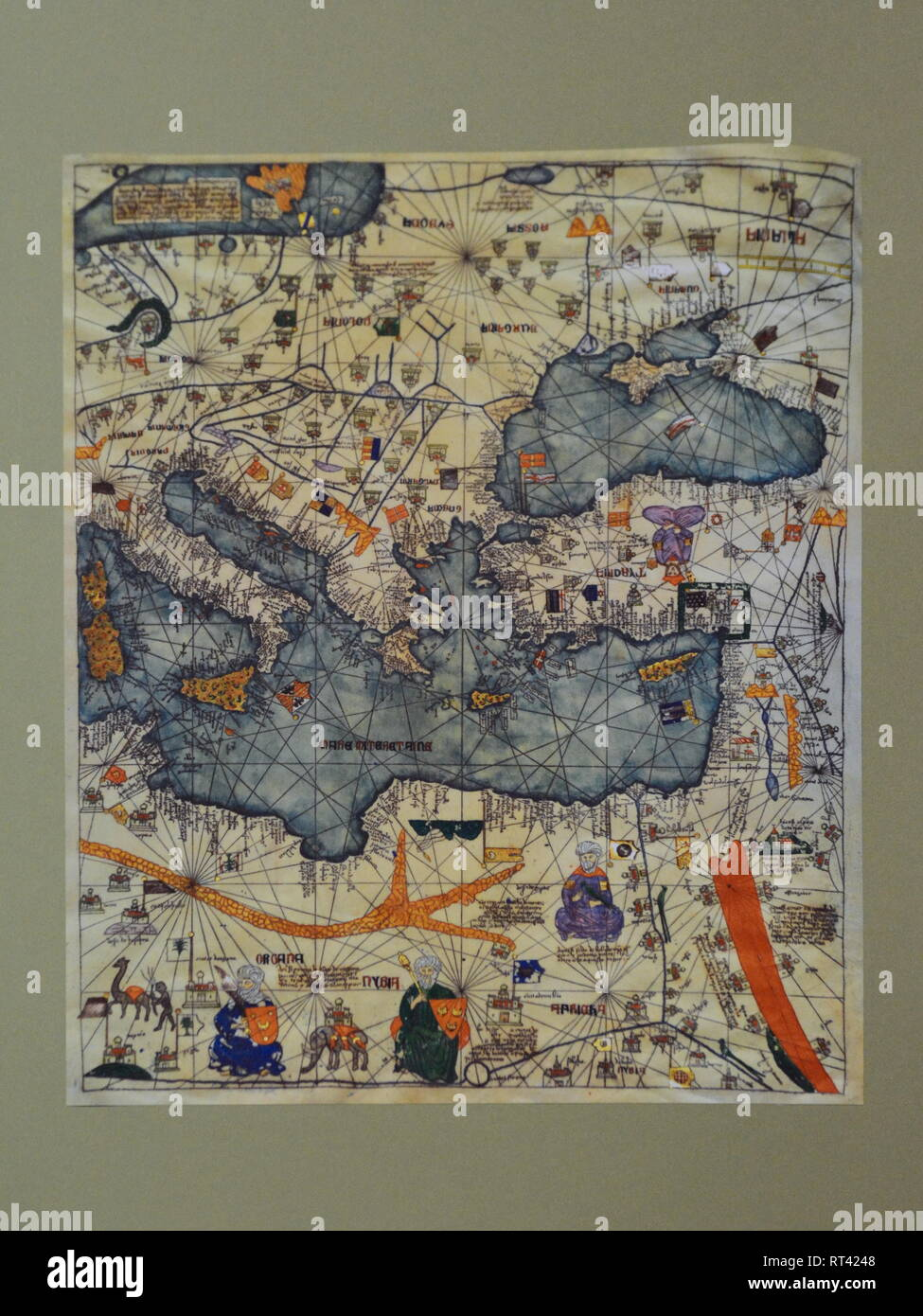 Kiev Ukraine 26th Feb 2019 Ancient Map Of The Crimea During The