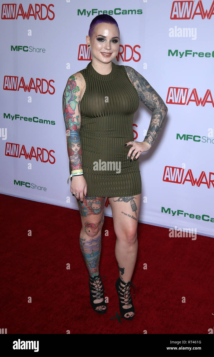 Amilia Onyx 2019 avn awards red carpet arrivals at the joint inside the