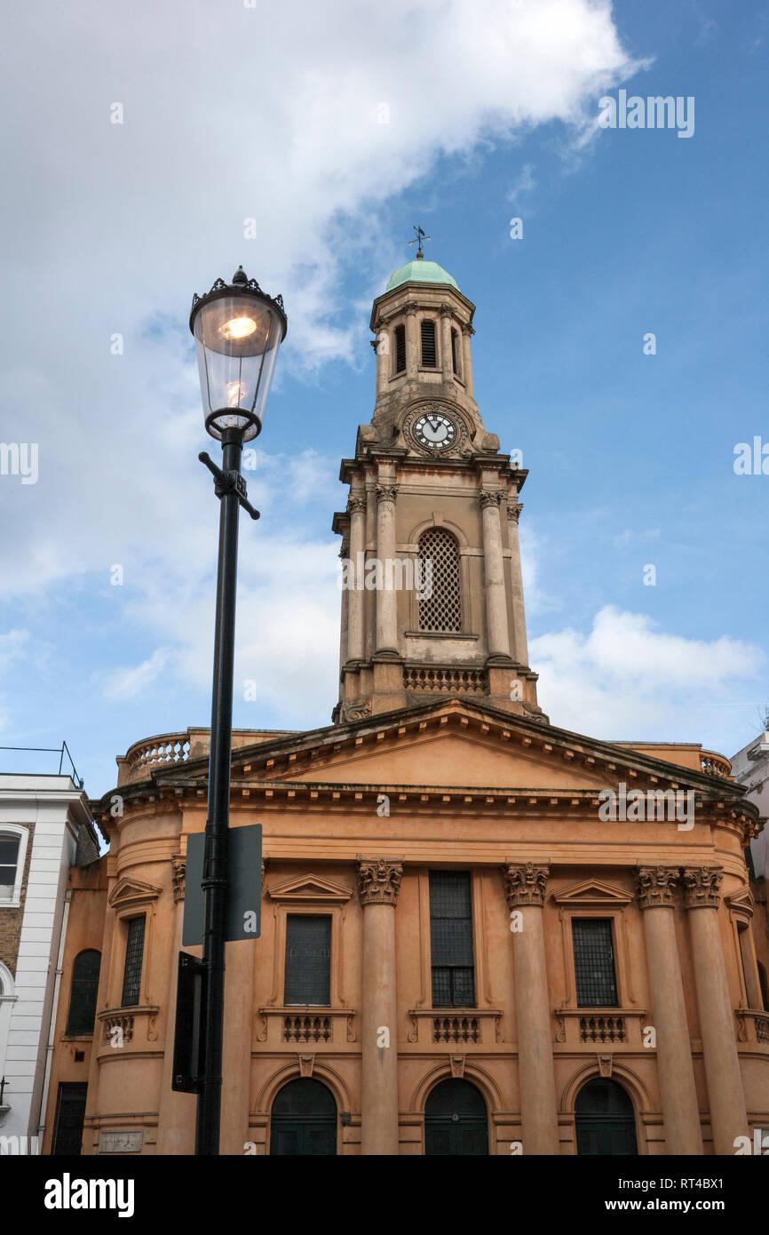 St Peter's, Notting Hill, London - Stock Image