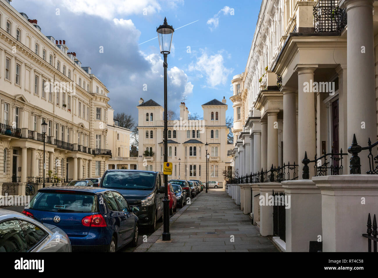 Stanley Gardens, Notting Hill, London - Stock Image
