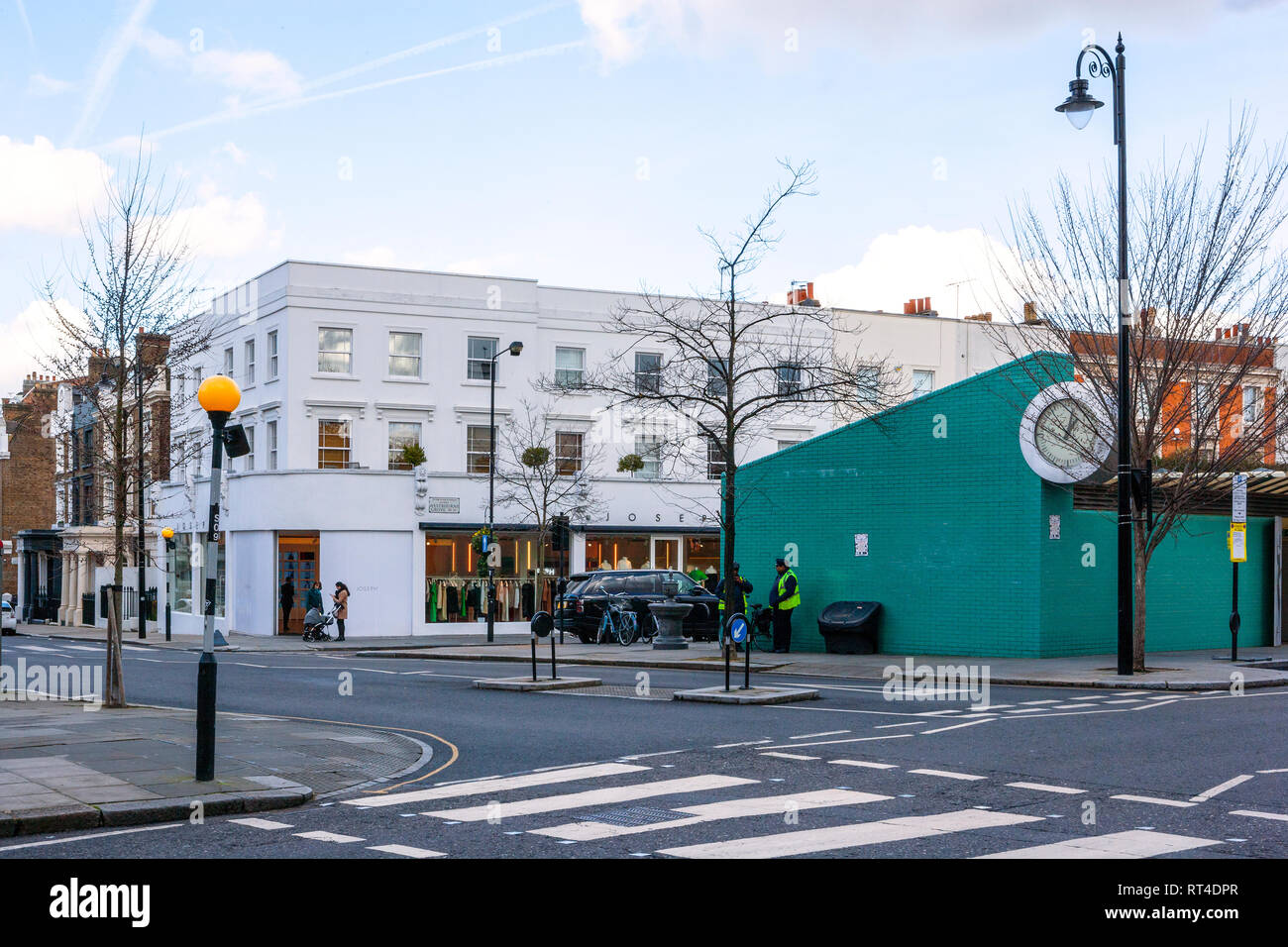 Westbourne Grove, Notting Hill, London - Stock Image