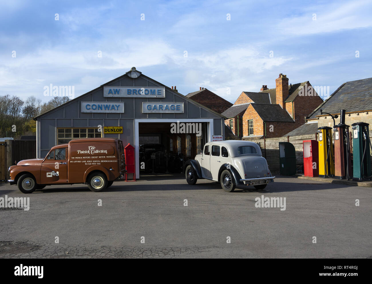 The 1940's weekend at the Black Country Living Museum in Dudley, West Midlands, England, UK - Stock Image