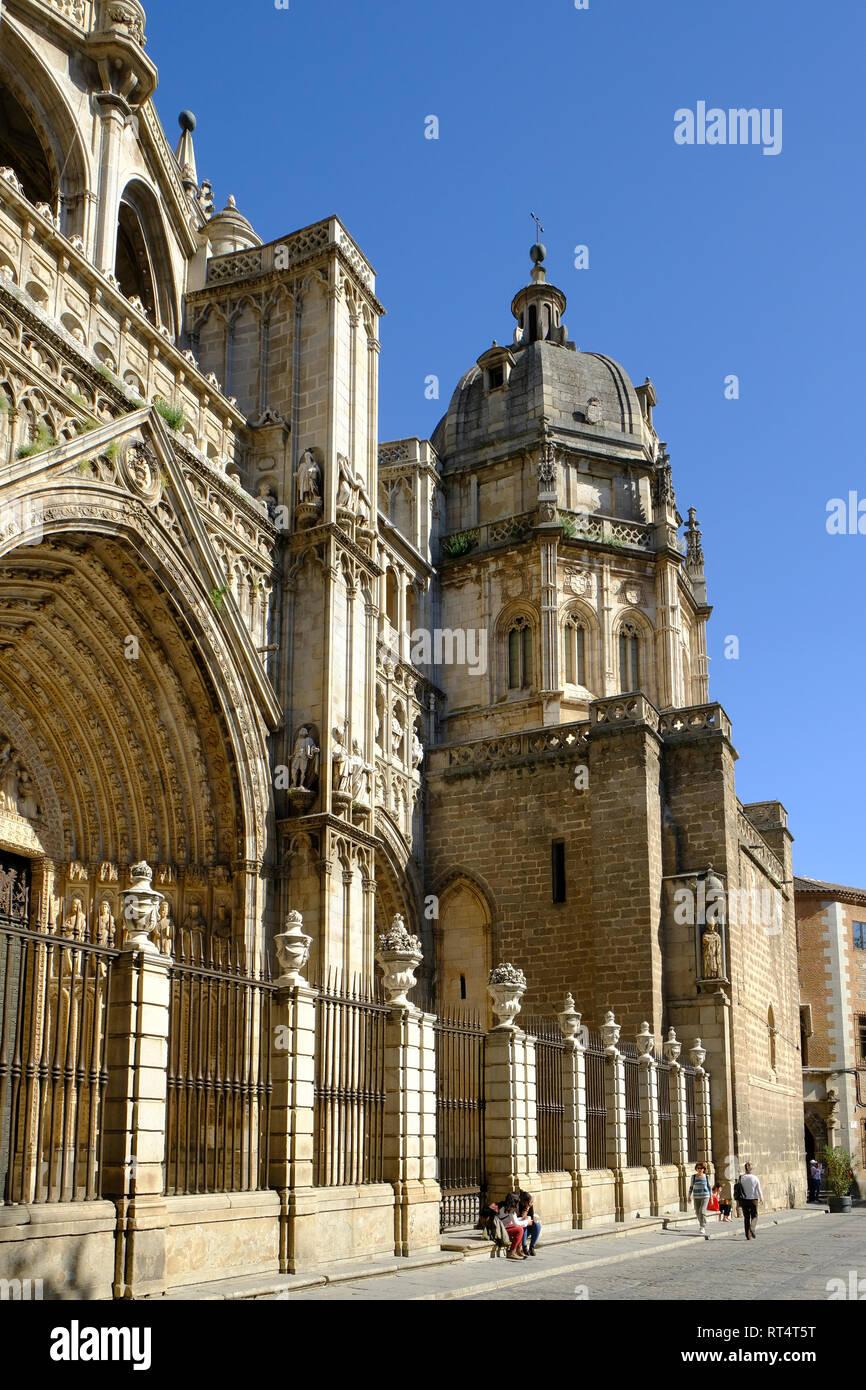 catedral Primada, Toledo, Castilla la Mancha, Spain Stock Photo
