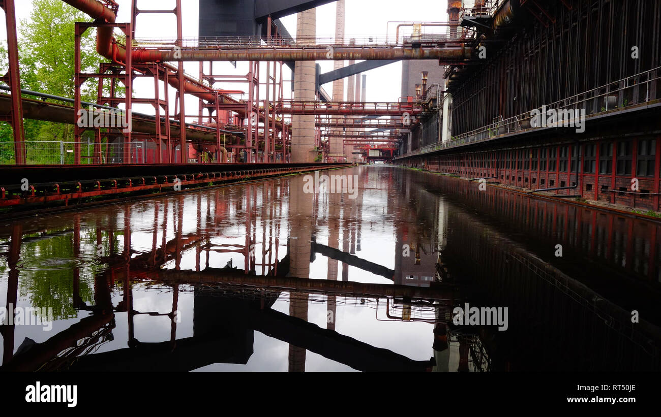 Zeche Zollverein Essen - Stock Image