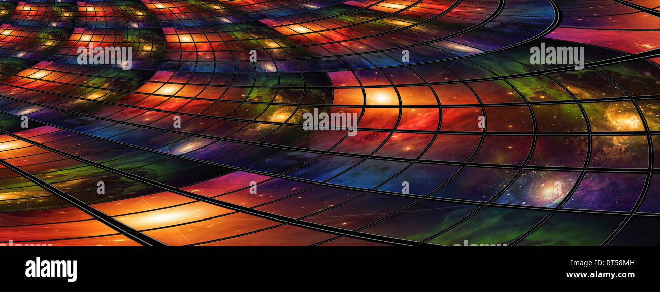 Video and image screens abstract. - Stock Image
