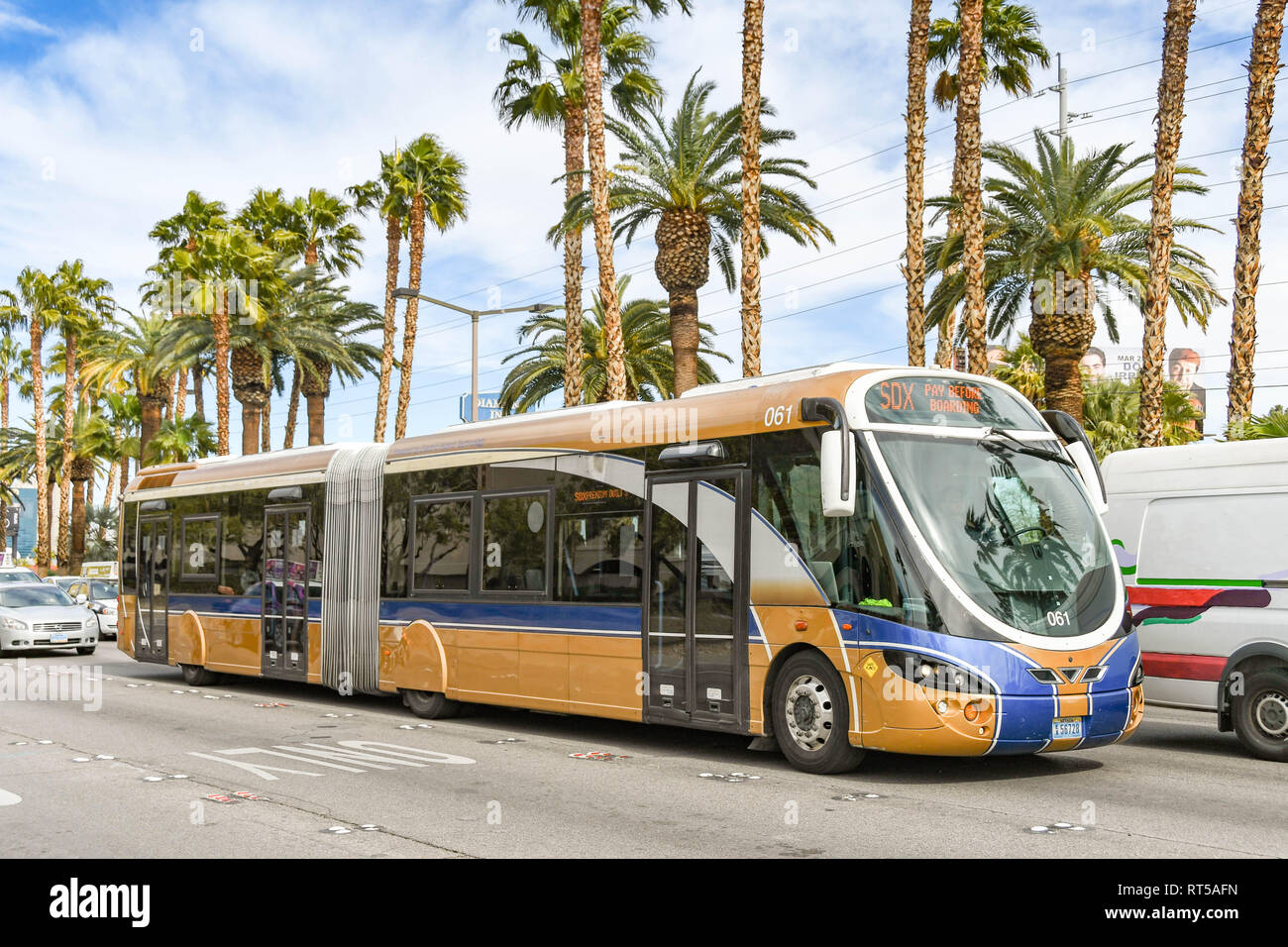Bus service las vegas strip