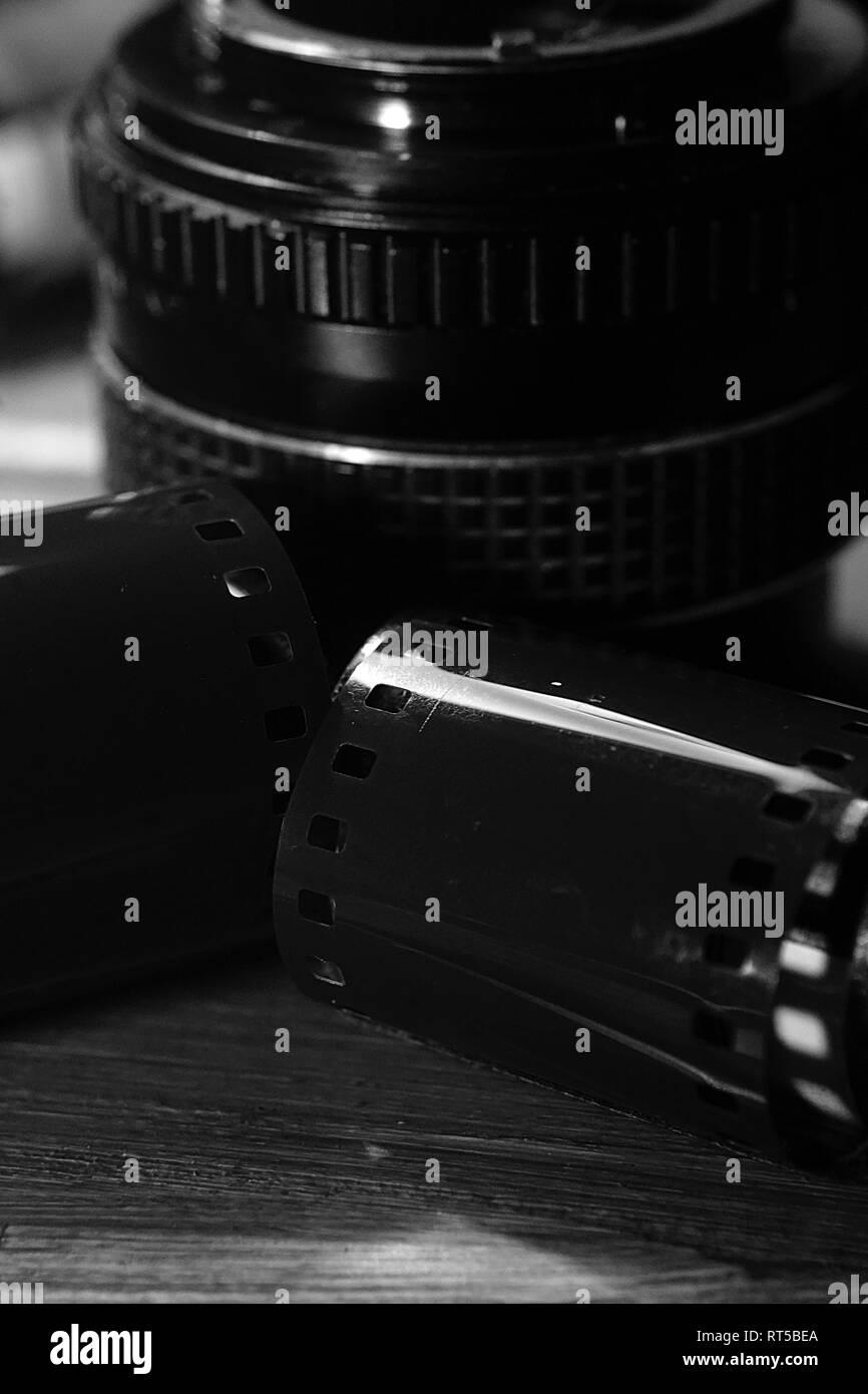 Analogue Photography - Stock Image
