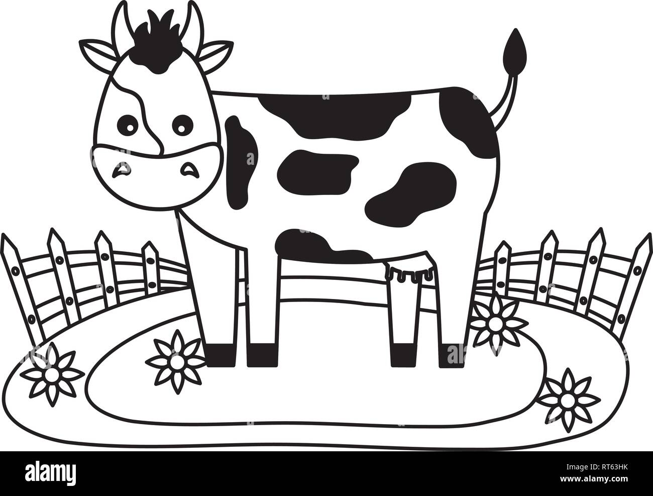 Animal Farm Fresh Stock Vector Image Art Alamy
