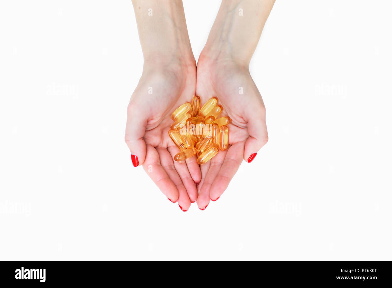 Palm Of Hand Cut Out Stock Images & Pictures - Alamy