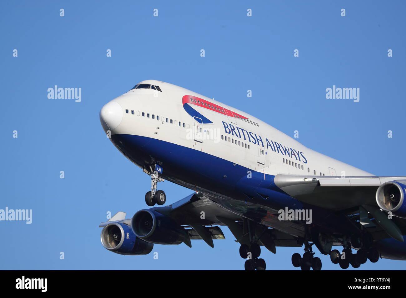 Close Up Jumbo Boeing 747 Stock Photos & Close Up Jumbo Boeing 747