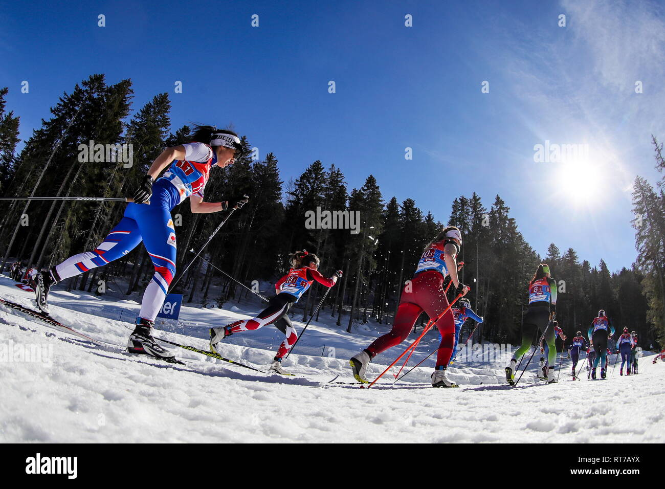 Tirol, Austria  28th Feb, 2019  TIROL, AUSTRIA - FEBRUARY 28, 2019