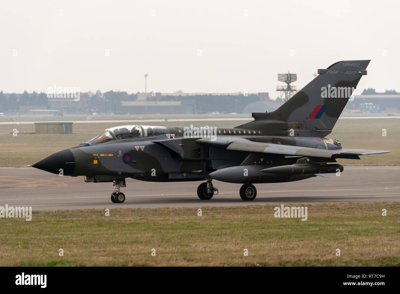 The Royal Air Force is saying farewell to the Panavia