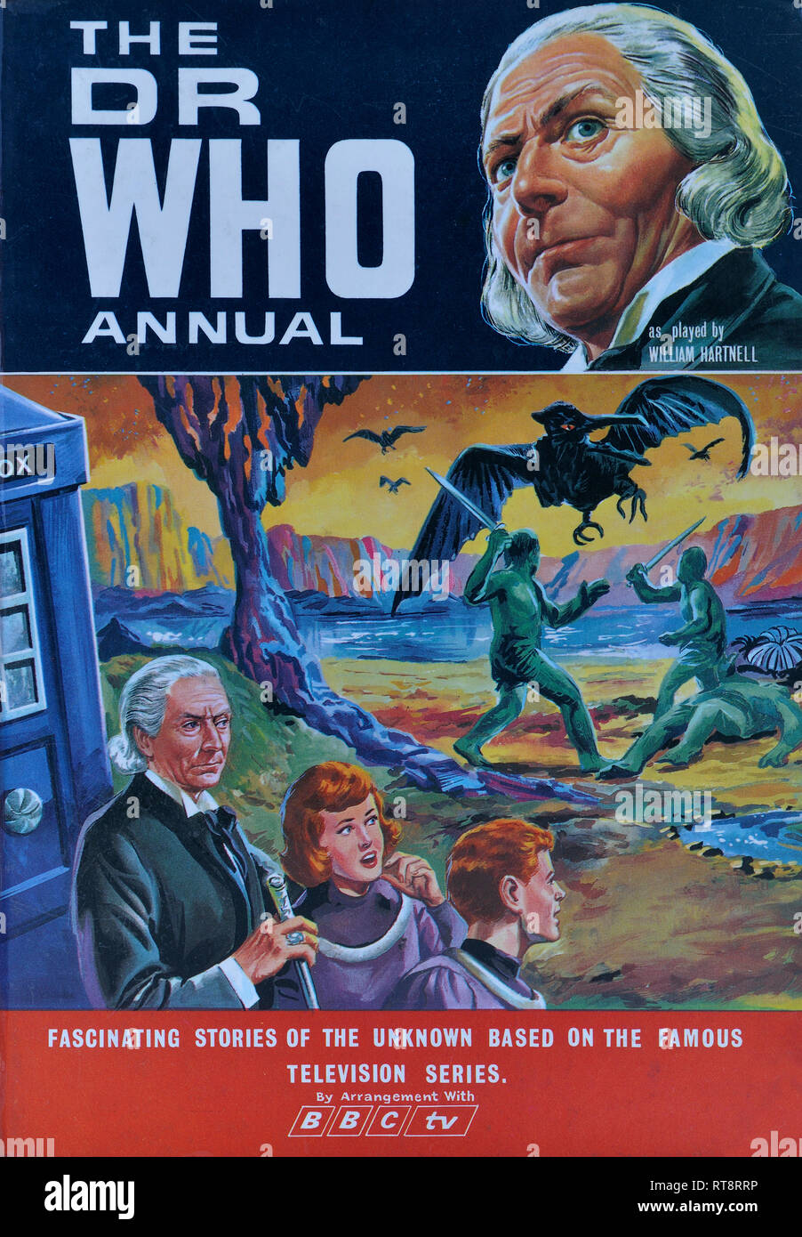 The Dr Who Annual. Circa 1966 - Stock Image