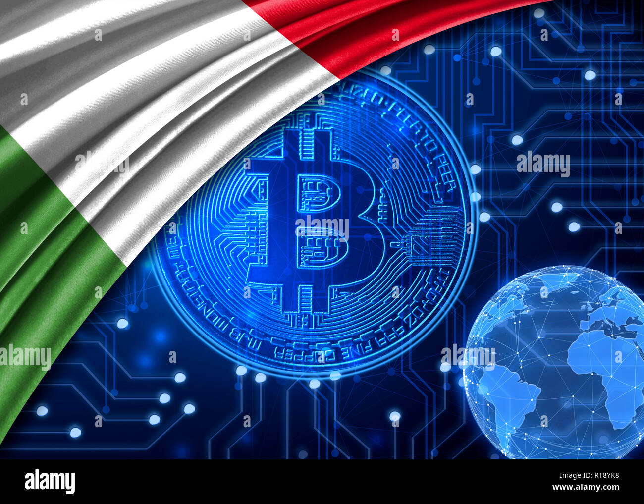 Italy Bitcoin High Resolution Stock Photography And Images Alamy