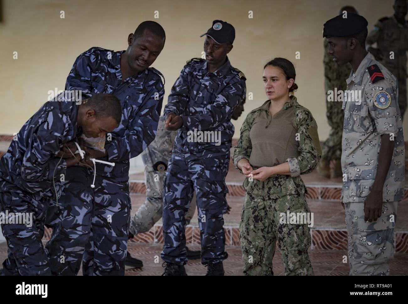 DJIBOUTI (Jan  30, 2019) U S  Coast Guard Maritime