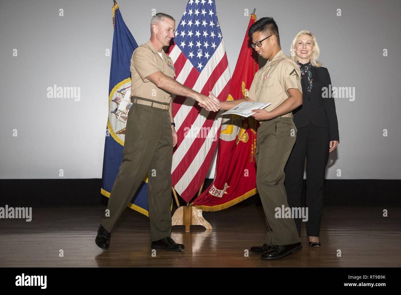 U S  Marine Col  Vincent Ciuccoli, commanding officer of