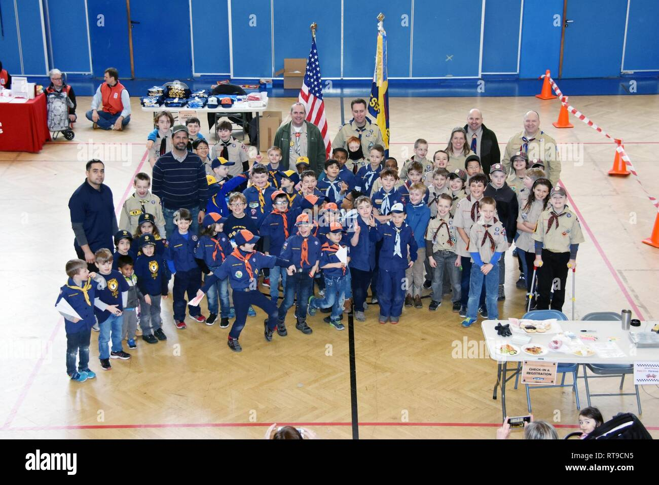 9095d6e1 Wiesbaden Cub Scout Pack 13 held its annual Pinewood Derby Jan. 26 at the  Tony