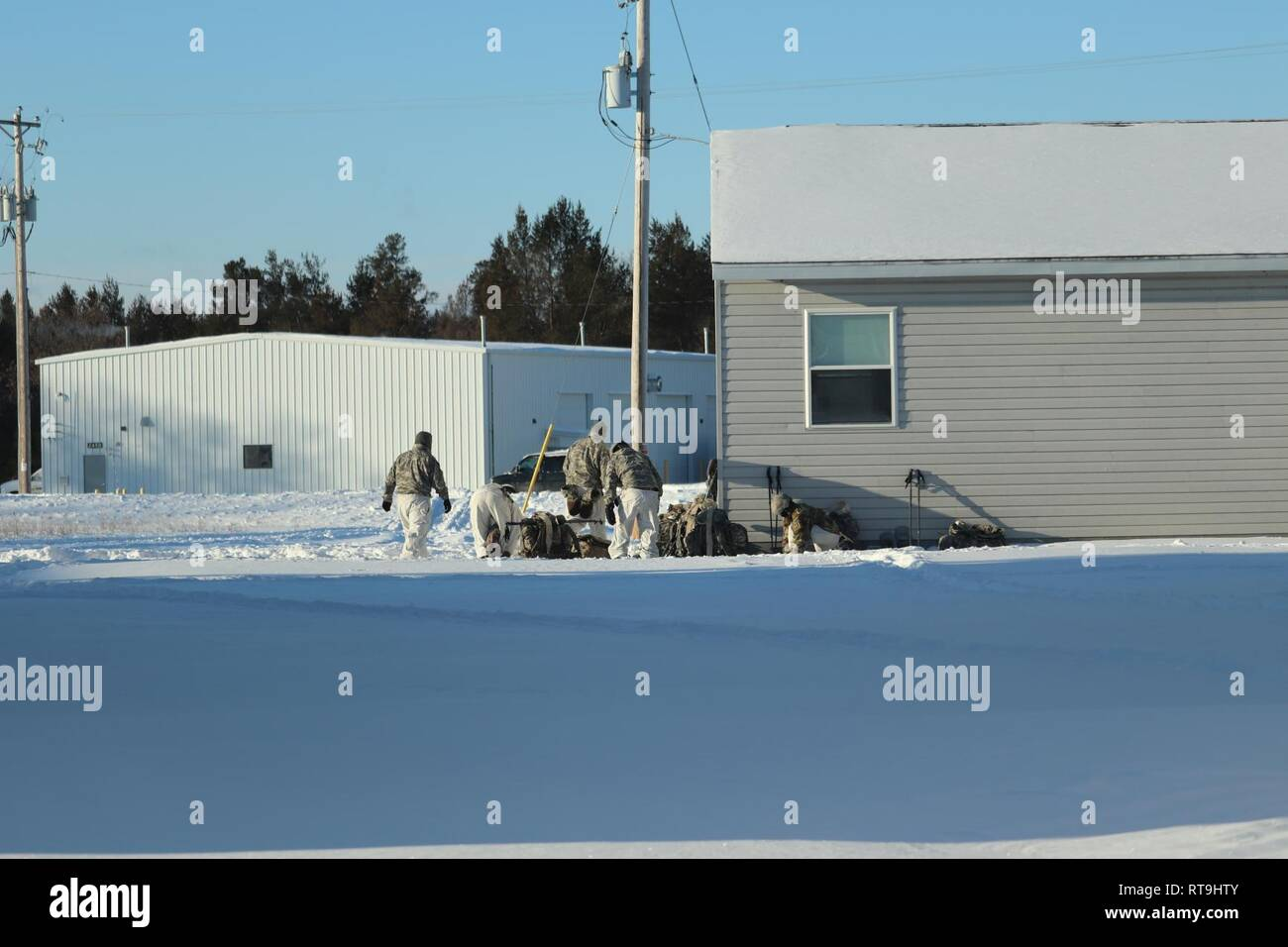 804b202f1a5fe Students in Cold-Weather Operations Course (CWOC) Class 19-03 prepare for  training Jan. 29, 2019, at Fort McCoy, Wis. CWOC students are trained on a  variety ...