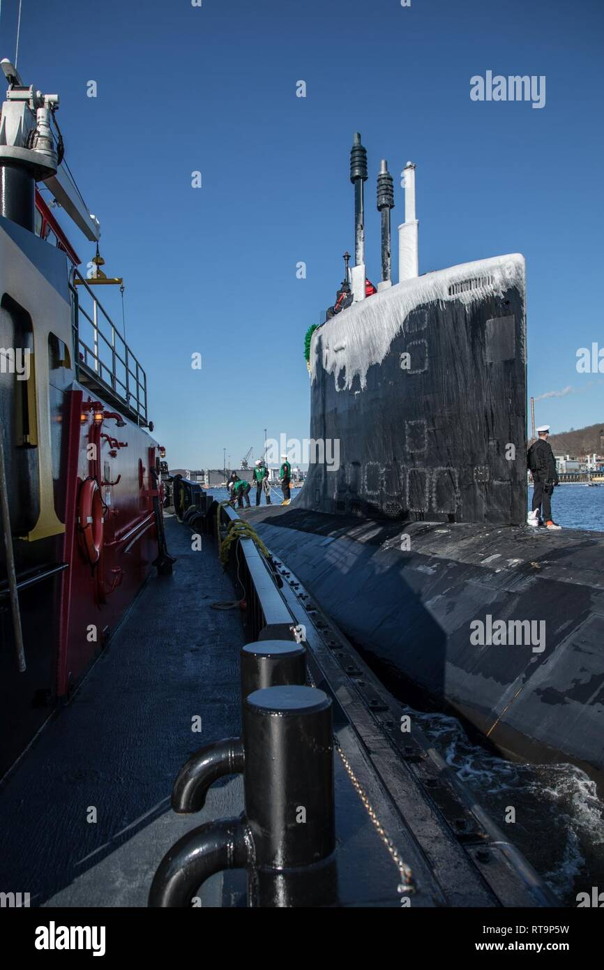 Jan  31, 2019) - The Virginia-class, nuclear-powered, fast-attack