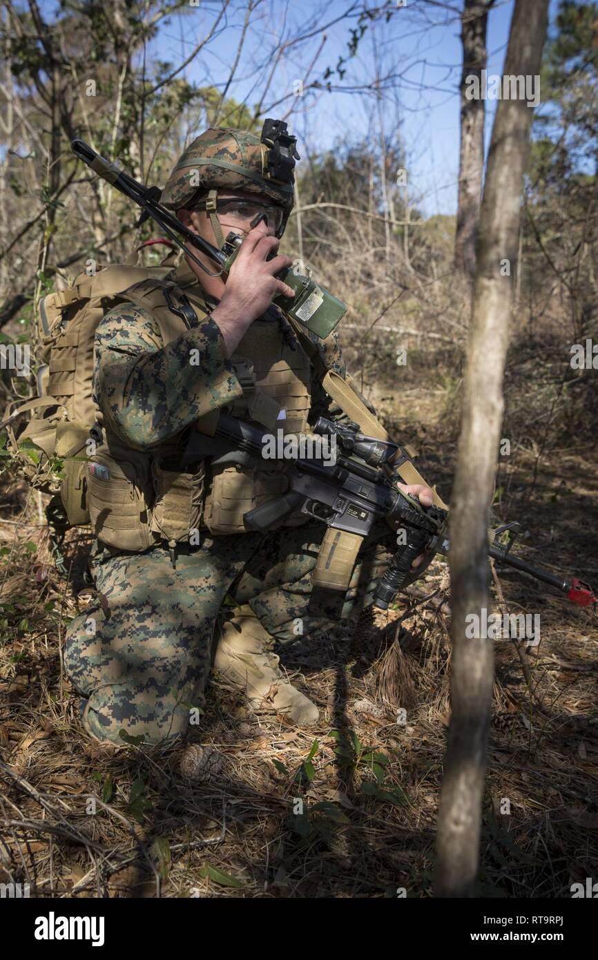 U S  Marine Sgt  Liam Lynch, an infantry Marine