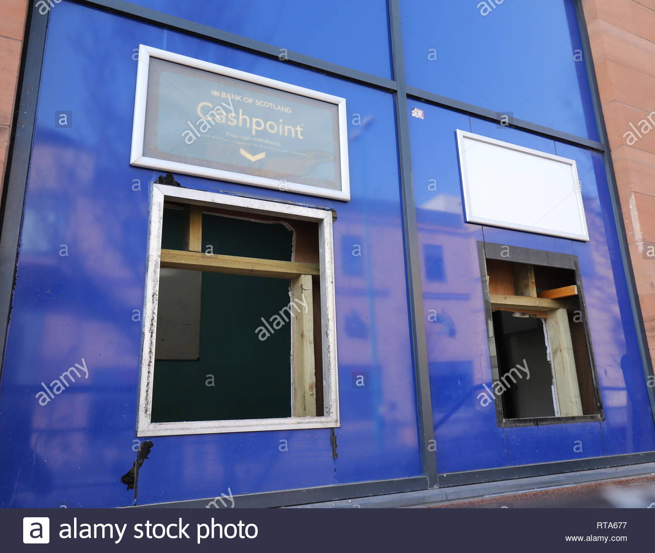 Former Bank of Scotland Nethergate Dundee Scotland  26th February 2019 - Stock Image