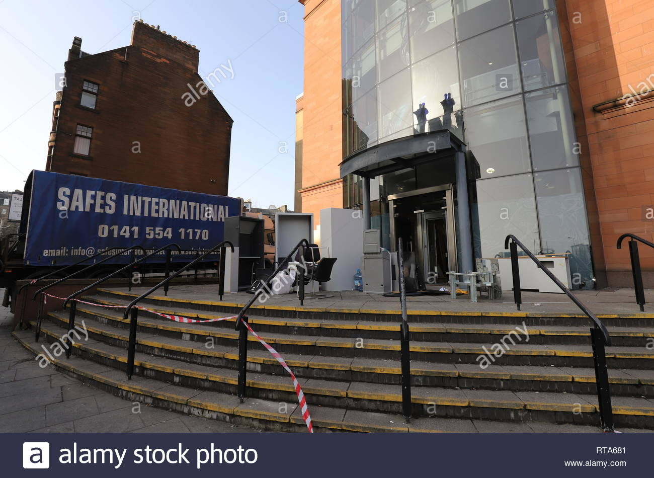 Former Bank of Scotland Nethergate Dundee Scotland  26th February 2019 Stock Photo