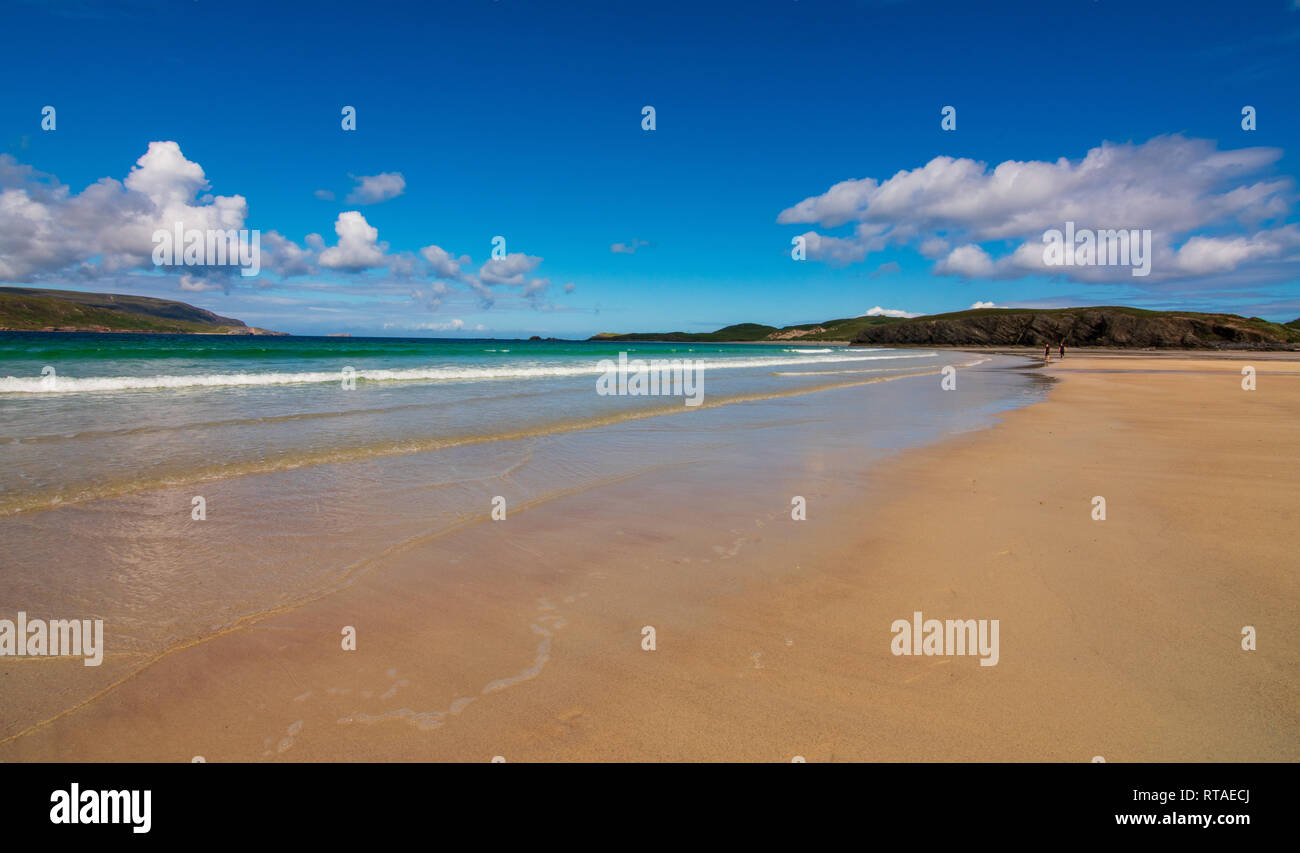 Balnakiel Bay near Durness, North Coast Scotland Stock Photo