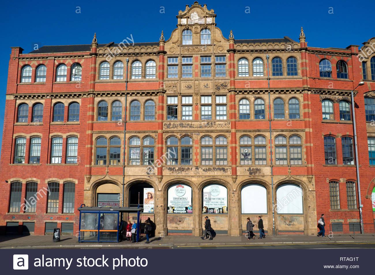 Devonshire Works (former Bird's custard factory), in Digbeth, central Birmingham, West Midlands, UK. Stock Photo