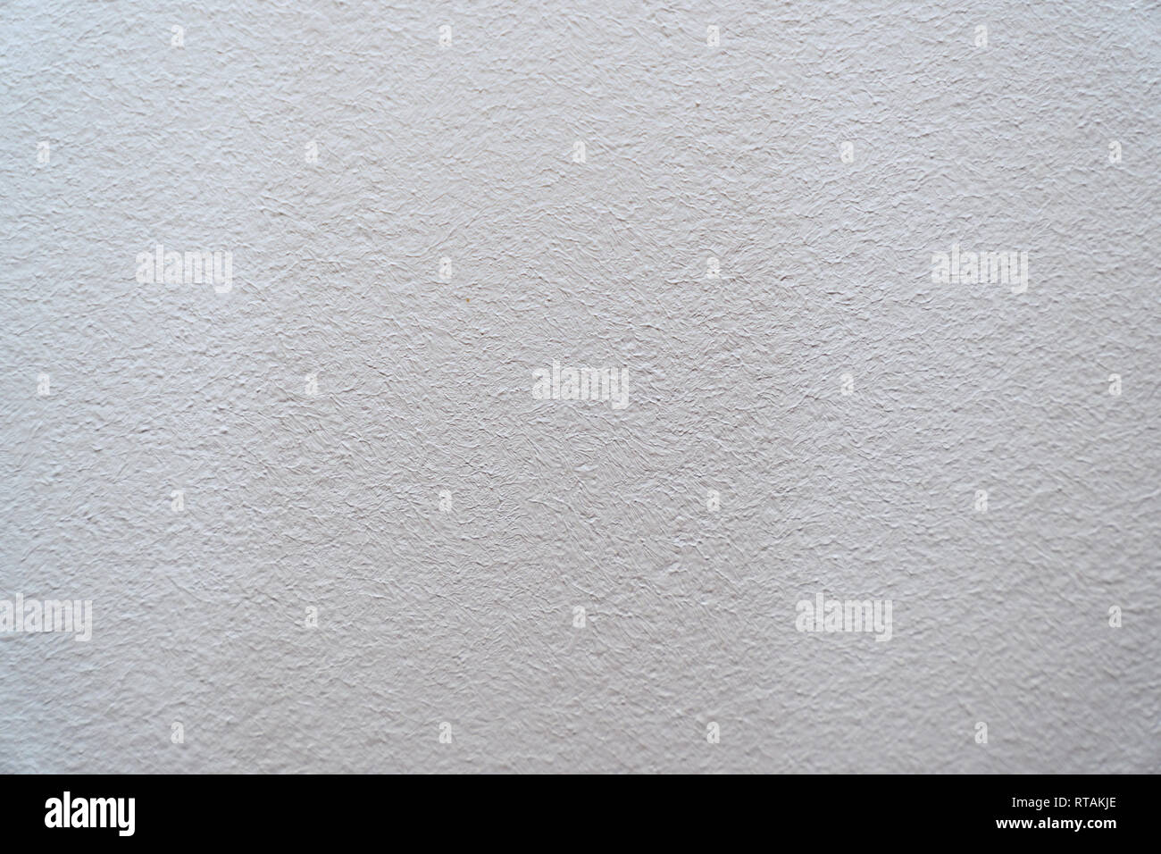 Grey wall coating texture for background - Stock Image