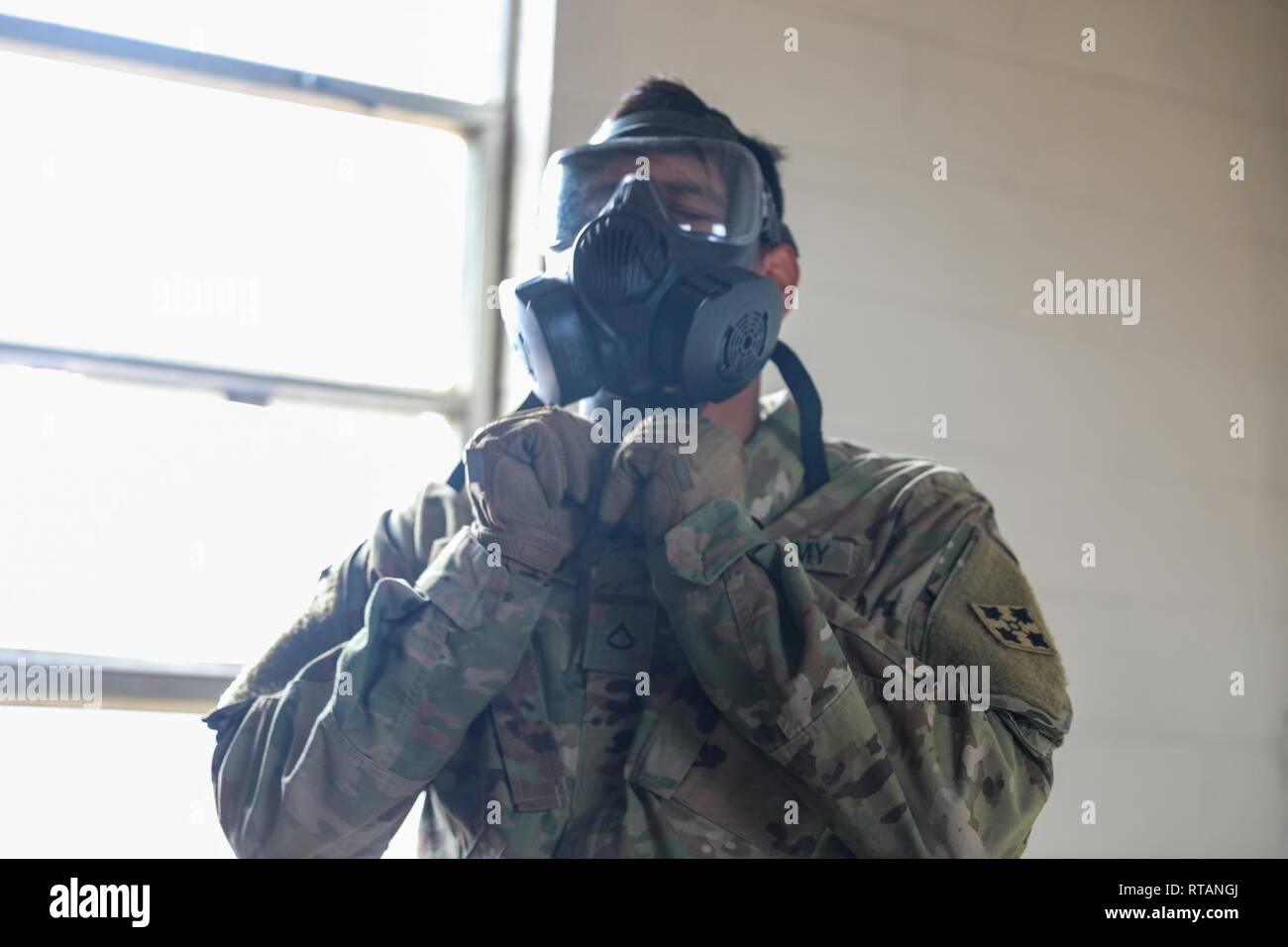 A Soldier assigned to the 2nd Infantry Brigade Combat Team