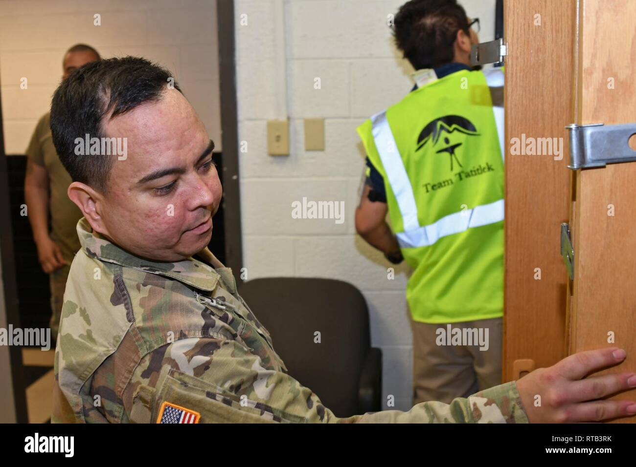 FORT BLISS, Texas – Sgt  Carlos Figueroa, billeting