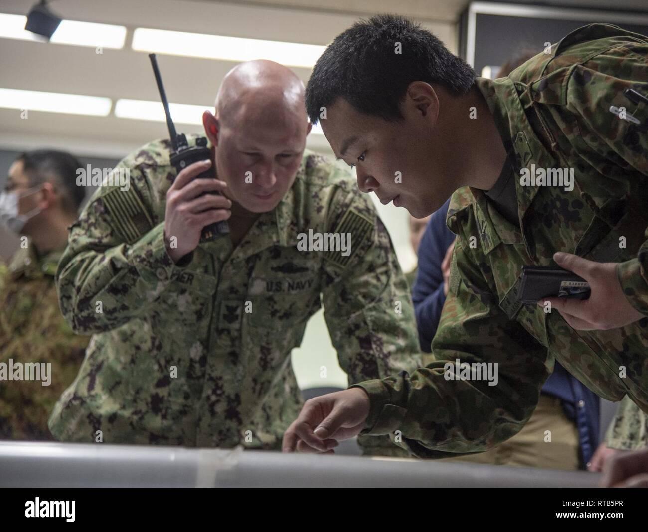 YOKOSUKA, Japan (Feb  7, 2019) Master-at-Arms 1st Class Tommy Hayner