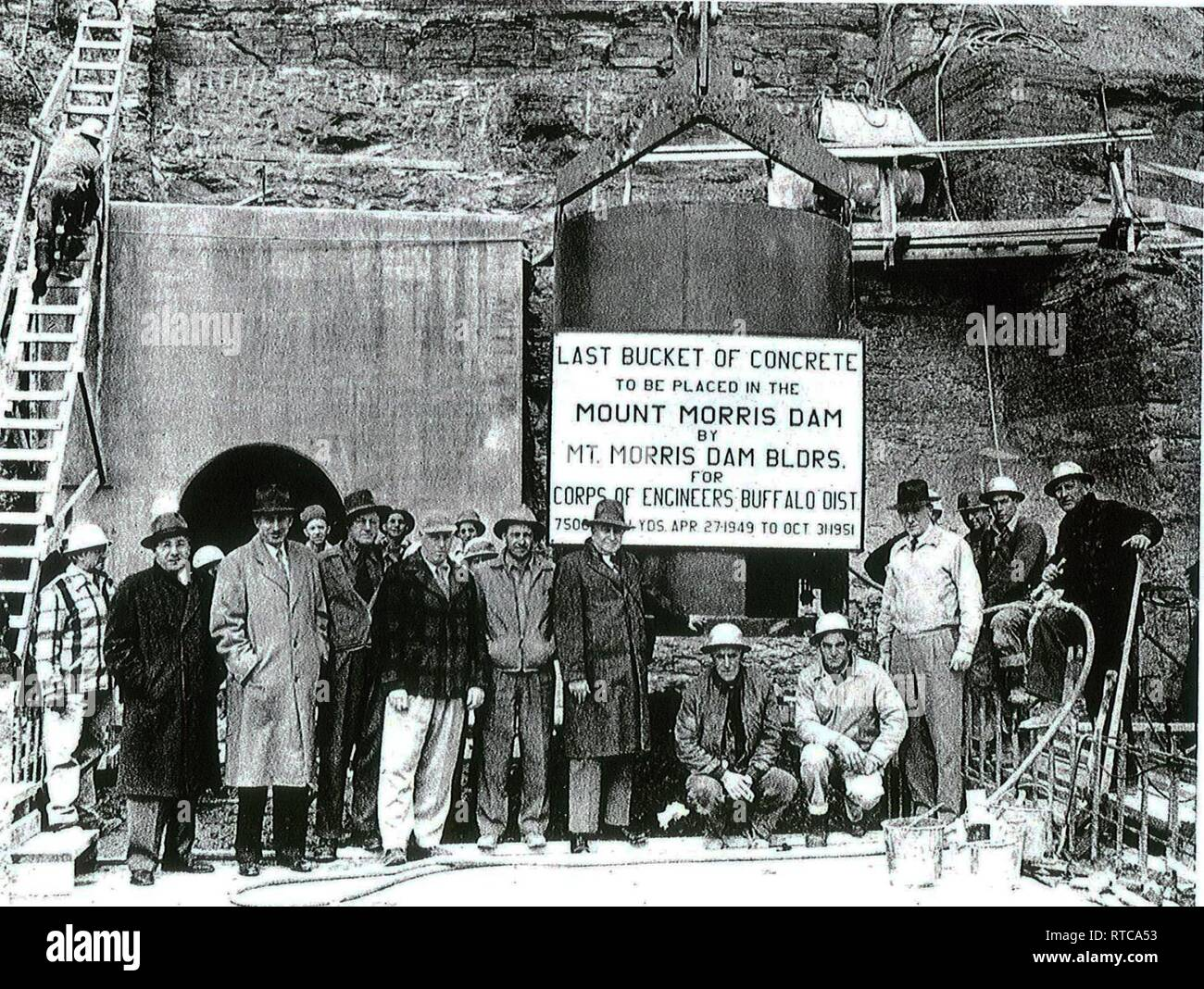 Mount Morris Dam High Resolution Stock Photography And Images Alamy