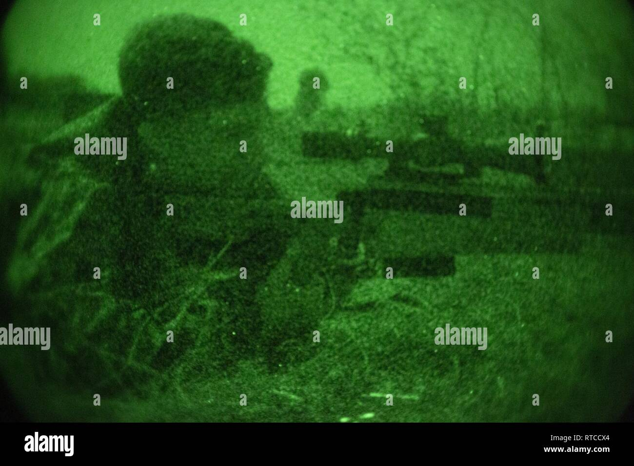 Royal Marines Sniper Stock Photos & Royal Marines Sniper